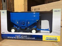 ERTL 1:32 blue Gravity Wagon