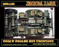 1/35th Real Model US M26 Dragon wagon engine set