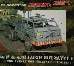 1/35th Real Model US M26A1 Dragon Wagon canvas cover