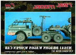 1/35th Real Model US M26A1 Dragon wagon open cab