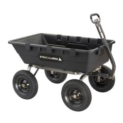 Gorilla Carts 1,500 lb. Super Heavy Duty Poly Dump Cart Gard