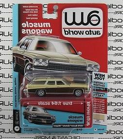Auto World 1:64 2018 Premium R4 Muscle Wagons 1975 BUICK EST