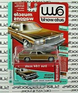 Auto World 1:64 2019 Premium R1 Muscle Wagons 1976 BUICK EST