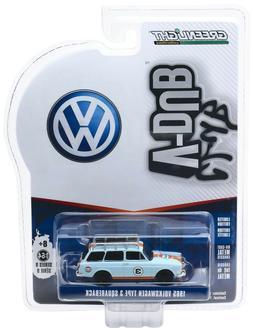1:64 GreenLight *CLUB V-DUB 9* 1965 Volkswagen VW Squareback