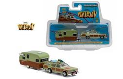New 1:64 GREENLIGHT COLLECTION HITCH & TOW - GREEN 1979 TRUC