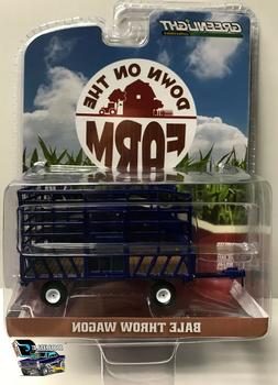 1:64 Greenlight Down on The Farm Series 2 - Bale Throw Wagon
