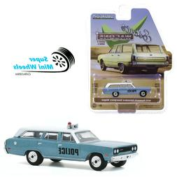 Greenlight 1:64 Estate Wagons - 1970 Plymouth Belvedere Emer