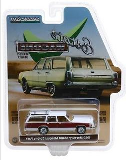 1:64 GreenLight *ESTATE WAGONS 2* WHITE 1989 Mercury Grand M