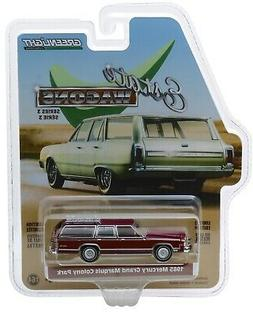 1:64 GreenLight *ESTATE WAGONS 3* BURGUNDY 1985 Mercury Gran