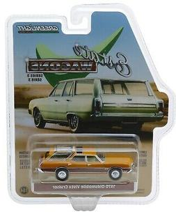 1:64 GreenLight *ESTATE WAGONS 3* NUGGET GOLD 1970 Oldsmobil