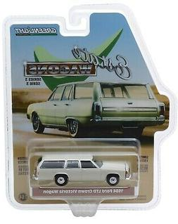1:64 GreenLight *ESTATE WAGONS 3* TAN 1984 Ford LTD Crown Vi