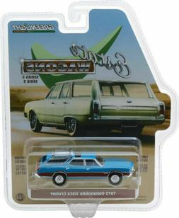 Greenlight 1/64 Estate Wagons S3 1972 Oldsmobile Vista Cruis