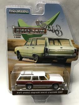 1:64 Greenlight Estate Wagons Series 2 - 1989 Mercury Grand