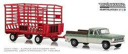 1:64 GreenLight *HITCH & TOW 15* 1969 Ford F-100 Truck & RED