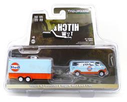 1:64 GreenLight *HITCH & TOW 20* 1972 Ford CLUB WAGON GULF E