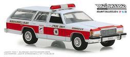 1:64 GreenLight *HOBBY EX* PATERSON FIRE DEPT 1985 Ford LTD