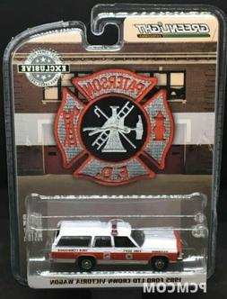 Greenlight 1/64 Paterson NJ Fire Department 1985 Ford LTD Cr