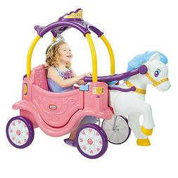 Little Tikes 2-in-1 Princess Horse And Carriage Ride On Toy