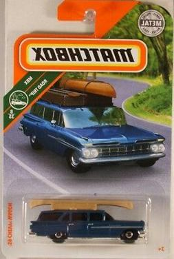 MATCHBOX #10 '59 Chevy Wagon, 2018 issue
