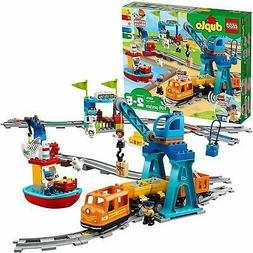 LEGO DUPLO Cargo Train 10875 Battery-Operated Building Block