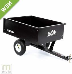 10cu ft Steel Dump Cart Garden Yard Wagon Lawn tractor Mower