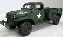 ERTL 1946 DODGE POWER WAGON exWIX NOW US ARMY 1/25th MINT IN
