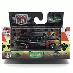 M2 Machines 1957 Chevrolet 210 Beauville Station Wagon  - Wi
