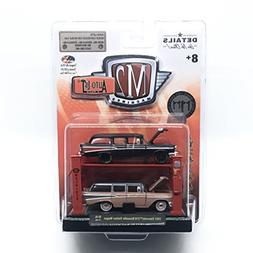 M2 Machines 1957 Chevrolet 210 Beauville Station Wagon  Auto