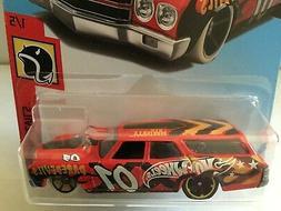 Hot Wheels 1970 CHEVELLE SS WAGON - 2018  HW Daredevils Seri