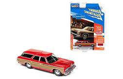 "1973 Chevrolet Caprice Wagon Red ""Classic Gold"" 1/64 by John"