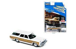 "1973 Chevrolet Caprice Wagon White ""Classic Gold"" 1/64 by Jo"
