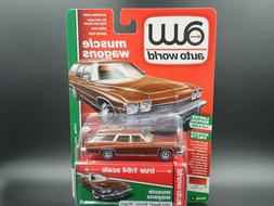 AUTO WORLD 1974 BUICK ESTATE WAGON 2019 MUSCLE WAGONS REL 2