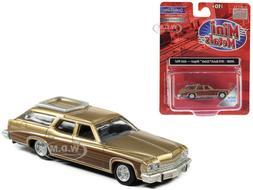 1974 BUICK ESTATE WAGON GOLD MIST MET. 1/87  CAR CLASSIC MET