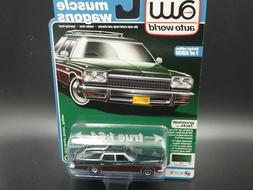 AUTO WORLD 1975 BUICK ESTATE WAGON MUSCLE WAGONS PREMIUM SER