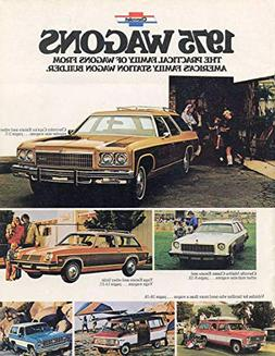 1975 CHEVROLET WAGONS: CAPRICE, IMPALA, BEL AIR, CHEVELLE &
