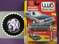 1976 BUICK ESTATE WAGON AUTO WORLD MUSCLE PREMIUM SERIES 1 V