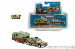 GREENLIGHT 1979 TRUCKSTER WAGON QUEEN AND TRAVEL TRAILER NAT