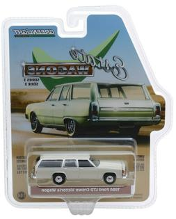 Greenlight 1984 Ford LTD Crown Victoria Wagon in Pastel Dese