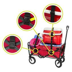 2* Sports Collapsible Folding Outdoor Utility Wagon Extendab
