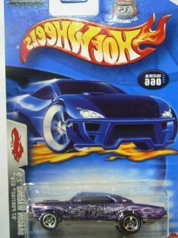 Hot Wheels 2003 Dragon Wagons '67 Pontiac GTO Purple #066 2/