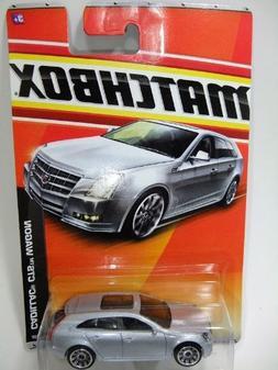 2011 Matchbox #37 VIP Cadillac CTS Wagon Silver