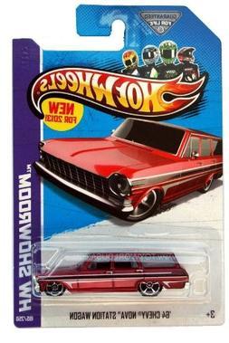 2013 Hot Wheels Hw Showroom '64 Chevy Nova Station Wagon 195