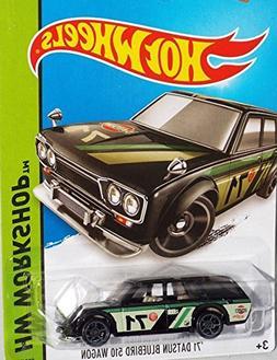 2015 Hot Wheels '71 Datsun Bluebird 510 Wagon