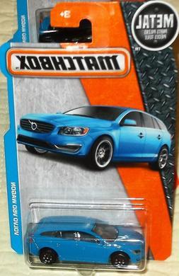 2016 Matchbox Metal Parts Blue Volvo V60 Wagon Diecast 4+ Bo