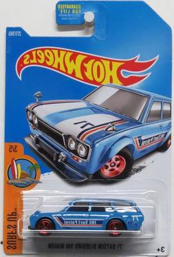 Hot Wheels 2017 '71 Datsun Bluebird 510 Wagon