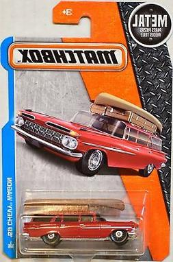 Matchbox 2017 Metal Parts Piezas '59 Chevy Wagon, Red