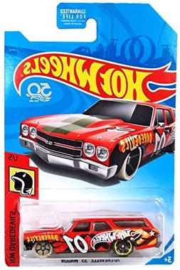 Hot Wheels 2018 50th Anniversary HW Daredevils '70 Chevelle
