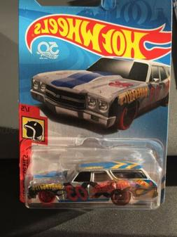 Hot Wheels 2018 Daredevils 70 CHEVELLE SS WAGON