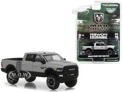 2018 DODGE RAM 2500 POWER WAGON PICKUP MET. SILVER 1/64 DIEC
