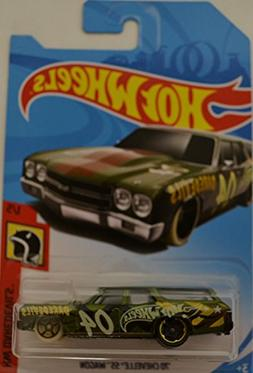 Hot Wheels 2018 Hw Daredevils 1/5 - '70 Chevelle SS Wagon